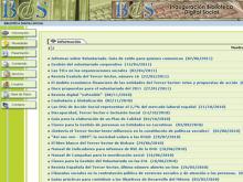 Captura del portal Biblioteca Digital Social