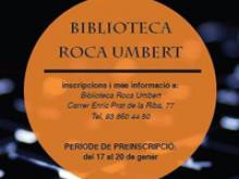 Formació a la Biblioteca Roca Umbert