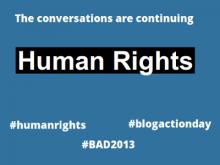 Blog Action Day 2013 sobre els drets humans