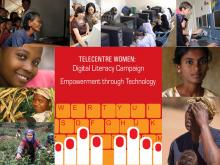 Telecentre Woman: Digital Literacy Campaign