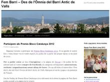 Captura del bloc Fem Barri