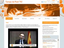 Bloc de la campanya Temps de Punt TIC 2011