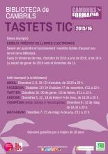 Cartell Tastet TIC