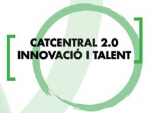 Logotip de Catcentral 2.0 innovació i talent