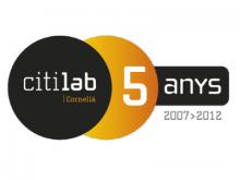 Logo del cinquè aniversari del Citilab