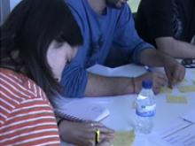 Imatge d'una de les sessions de Formació Comunitària