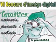 Cartell del VI Concurs 'Imatge Digital de Santa Bàrbara