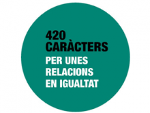 """Concurs de microrelats de l'ICD """"420 caràcters per unes relacions en igualtat"""""""