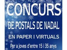 Cartell del concurs de Postals de Nadal de Ribera d'Ebre