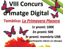 Part del cartell del VIII Concurs d'Imatge Digital de Santa Bàrbara
