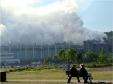 Contaminació de l'aire. Imatge d'Ecologistes en Acció