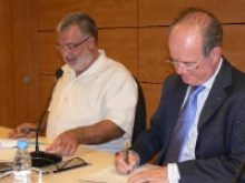 Signant conveni UPC  i Masquefa