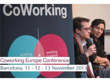 Conferència Europea de Coworking 2013 a Barcelona
