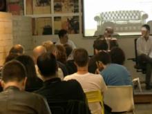 Taula rodona sobre coworking i iniciatives públiques a la Coworking Spain Conference