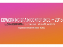 Logotip de la Coworking Spain Conference 2015