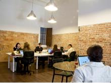 Imatge d'un espai de coworking