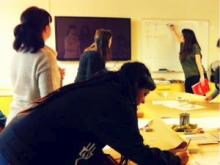 Un taller al centre de coworking CREC