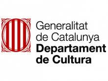 Logotip Departament de Cultura de la Generalitat