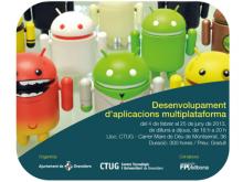 Curs de desenvolupament d'aplicacions multiplataforma, al CTUG