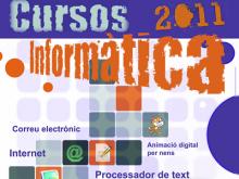 Cartell de l'oferta formativa del CTIC Montblanc Digital