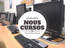 Nous cursos al Punt TIC Palau Falguera