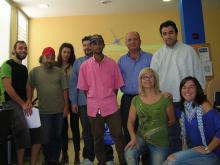 Grup que ha finalitzat la formació Connecta't a Tremp