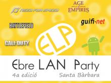 Part del cartell de la 4a edició de l'Ebre LAN Party
