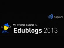 VII Premi Espiral Edublogs 2013