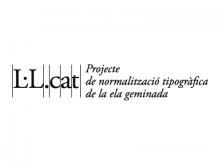 Logo del Grup de Treball per a la Normalització Tipogràfica de la ela geminada