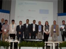 Foto de grup a la conferència d'eSkills for Jobs a Roma