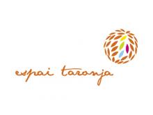Logotip de l'Espai Taronja, centre de coworking