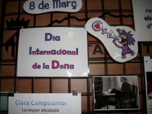Exposició Dia de la Dona a Masquefa