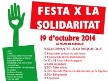 Festa x la Solidaritat 2014 a la Palma de Cervelló