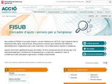 FISUB, cercador d'ajuts i serveis per a l'empresa