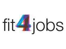 Logotip del projecte europeu Fit4jobs