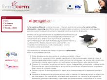 Captura de pantalla de la plataforma web Form@carm