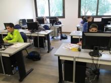 Alumnes de l'Smartcentre
