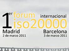 1er Fòrum Internacional ISO 20000