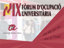 IX Fòrum d'Ocupació Universitària