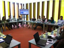 Fotografia de l'assemblea de l'Asociación Comunidad de Redes de Telecentros