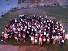 Foto de grup de la Jornada de dinamització de la Internet Social 09