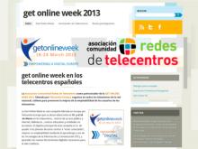 Bloc estatal de la Get Online Week 2013