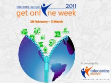 Logo Get online Week 2011