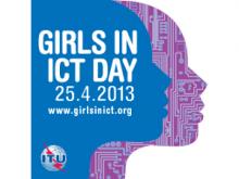 Logotip del Girls i ICT Day