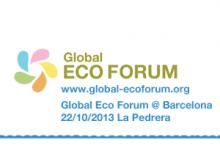 Global Eco Forum Barcelona 2013