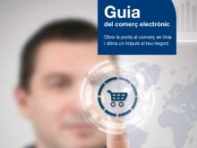 Part de la portada de la guia de comerç electrònic d'idigital