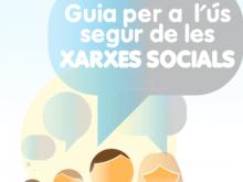 Portada de la Guia per a l'ús segur de les xarxes socials