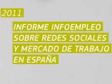 Portada de l'Informe Infoempleo sobre xarxes socials i mercat de treball a Espanya