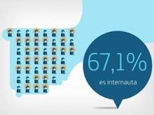 Fotograma del vídeo que resumeix l'informe de la SI 2011 de Telefónica