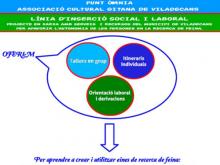 Anem per feina! línia d'Inserció social i laboral de l'Òmnia de l'Associació Cultural Gitana de Viladecans